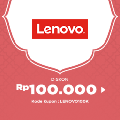 Kode Kupon JD.ID Diskon 100.000 untuk Produk LENOVO