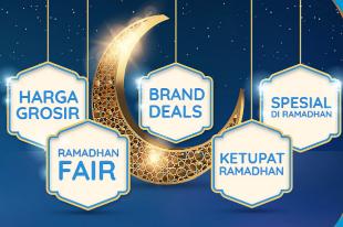 Promo Kebaikan Ramadhan Diskon Hingga 90%