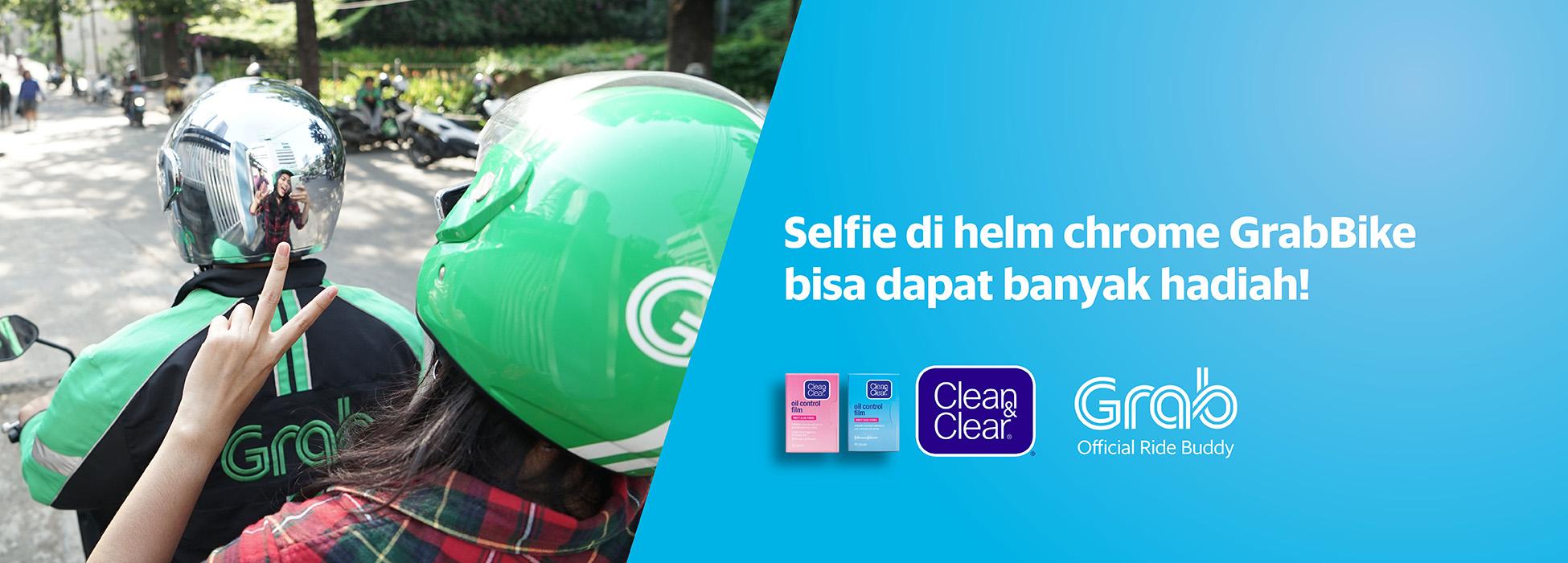 Kode Promo Grab - Yuk Selfie Di Helm GrabBike!