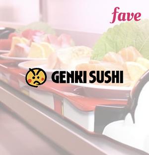 Genki Sushi - Voucher Rp 100.000