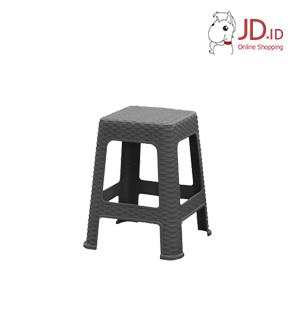 Square Chair Dark Grey 4pcs
