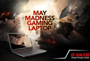 May Madness Gaming Laptop Diskon s/d Rp 750.000