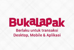 [Hanya di App] Cashback 5% s/d Rp 200.000 Setiap Hari