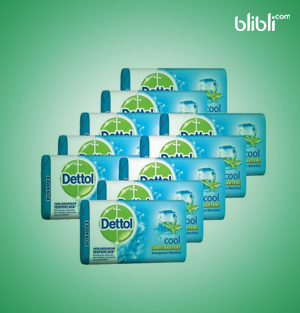 Bar Soap Anti Bacterial Cool 10x