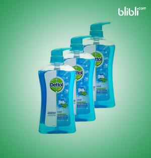Cool Body Wash Bottle 3x