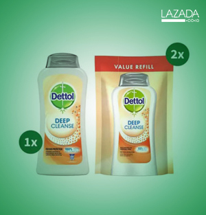 Wash Deep Cleanse + Refill