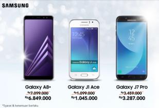 Samsung Brand Deals Cashback s/d Rp 250.000
