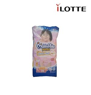 MamyPoko Pants Extra Soft L 28s (Girl)