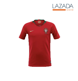 Jersey Bola Portugal Home