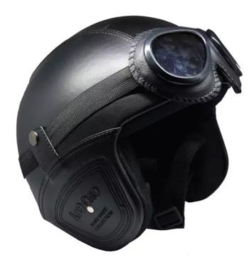 Helm Retro Bogo Vespa Classic