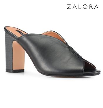 Front Stitch Detail Heels