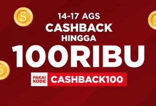 Cashback Hingga Rp 100.000 ke Koin Shopee