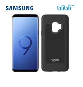 S9 - Coral Blue + TUMI Case