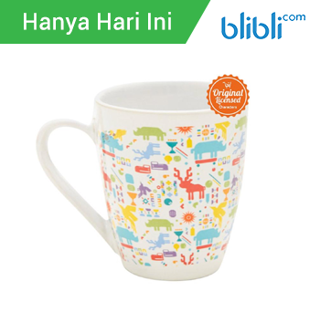 Asian Games 2018 Patern Ceramic Mug