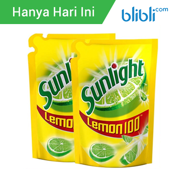 Sunlight Lemon Refill 800mlx2