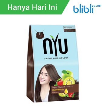 NYU Creme Hair Colour - Natural Brown