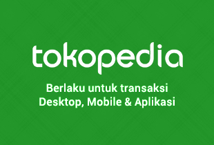 Promo Tokopedia - Official Store Tokopedia