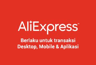 Promo AliExpress - New Customer Potongan $10