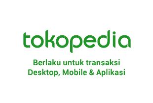 Kode Promo Tokopedia - Pakai Ninja Xpress Cashback Hingga Rp 15.000 ke TokoCash
