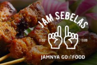 Promo Go-Food - Jam 11 Jamnya GO-FOOD, Banyak Promo Terhidang +Cashback s/d Rp 25.000