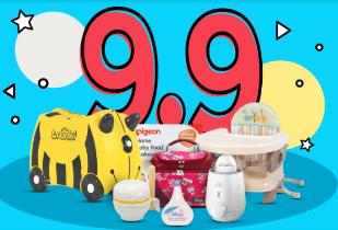 September Meriah Produk Ibu & Anak Diskon 9% + 9%