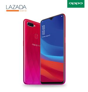 [Lazada] OPPO F9 Sunrise Red