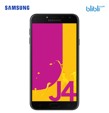Galaxy J4 - Black 32GB
