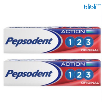 PEPSODENT Action 123 Twin