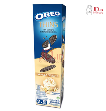 OREO Thins Biscuit Vanilla 95gr