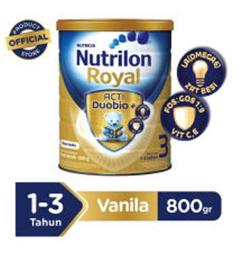 Nutrilon Royal 3 Vanilla - 800gr