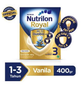 Nutrilon Royal 3 Vanilla - 400gr