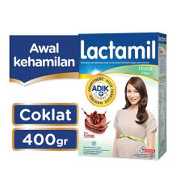 Lactamil Inisis Coklat - 400gr