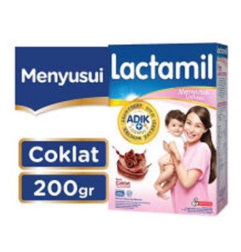 Lactamil Lactasis Coklat - 200gr