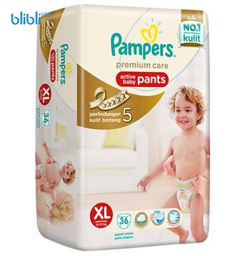 Pampers Popok Celana XL-36 Premium Care - Popok Bayi