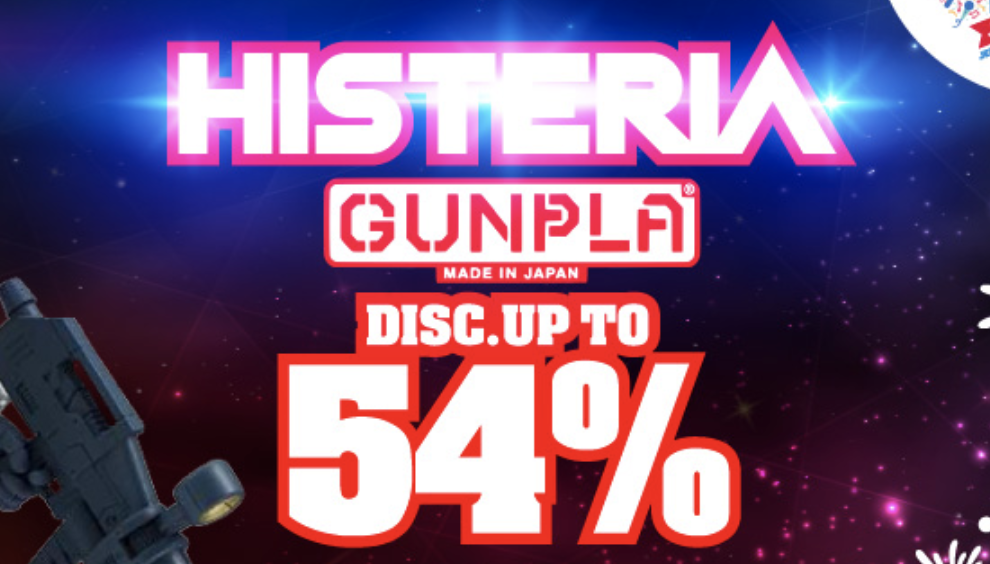 Voucher Diskon Blibli Sale Gundam All Collection 54%