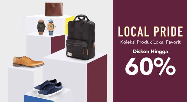 Blibli Local Product Diskon 60%