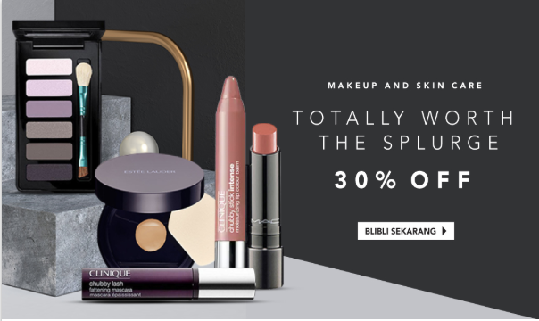 Blibli diskon make up high end