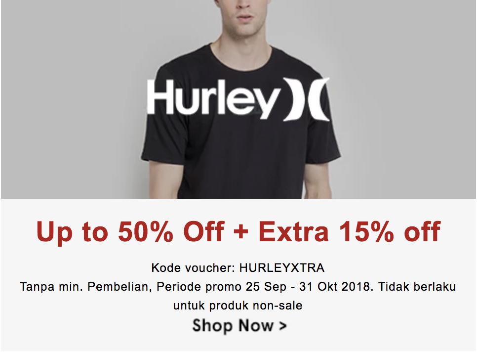 Makin Kece Dengan Diskon Hingga 65% Dari Hurley