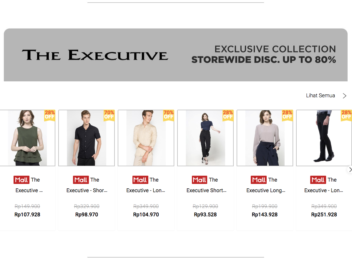 Voucher Shopee The Executive Diskon 80%