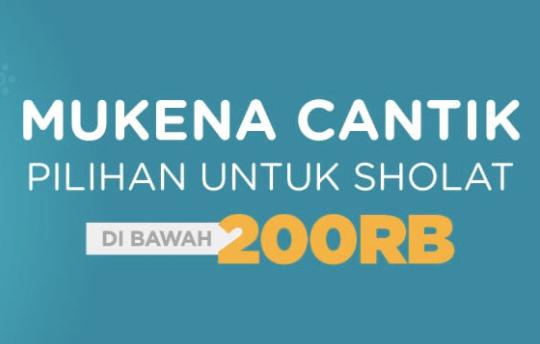 Kode Promo Shopee Diskon Mukena Murah