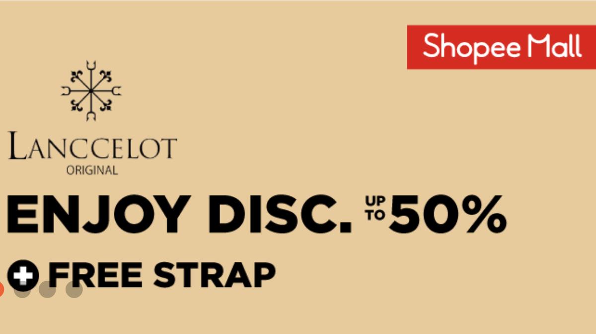 Kode Promo Shopee Diskon Jam Tangan Lanccelot