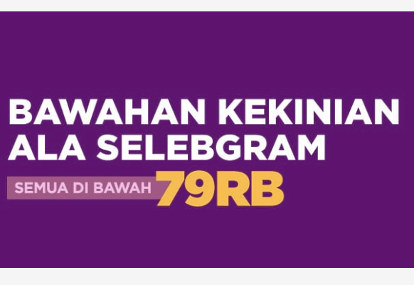 Kode Promo Shopee Celana Wanita murah 79rb