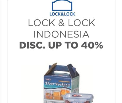 Kode Voucher Shopee Diskon Lock&Lock 40%