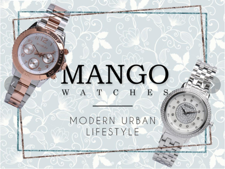 Diskon Jam Wanita Mango 50%