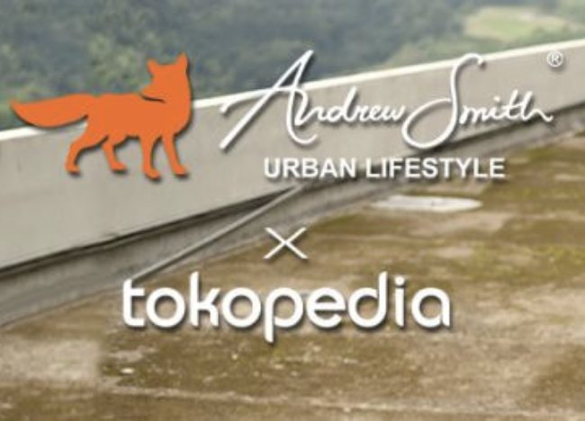Kode Promo Tokopedia Andrew Smith Diskon 50%