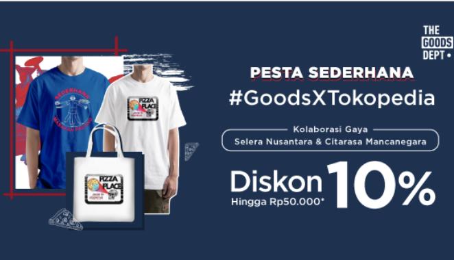 The Goods Dept Extra Diskon 10%
