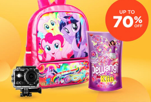 COD Up To 70% Off Gratis Ongkir Min. 50rb
