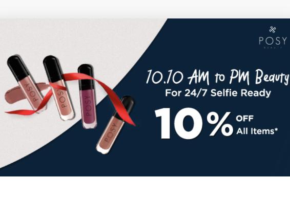 Lipstick Posy Matte Liquid Lipstick Diskon 10%