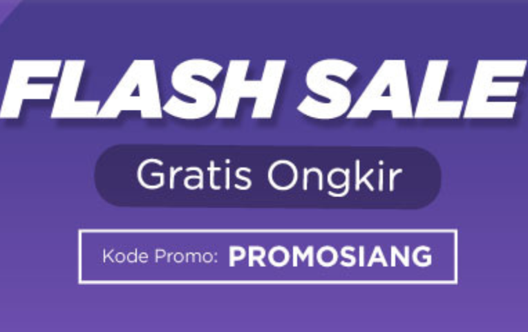 Flash Sale Gratis Ongkir