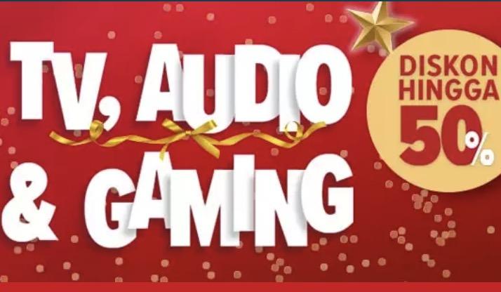 Gadget & Perangkat Gaming Diskon 50%